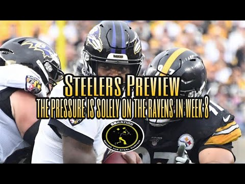 Steelers Preview: The pressure is solely on the Ravens in Week 8