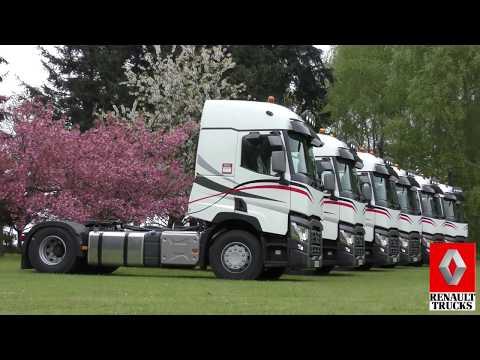 Renault Trucks présentation / 6 T 480 / Garage de Normandie / HD*