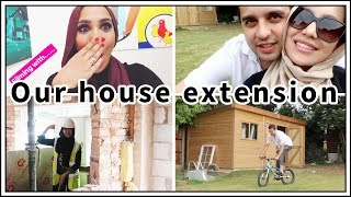 House extension UPDATE!   Home Makeover Vlog 4   Amena