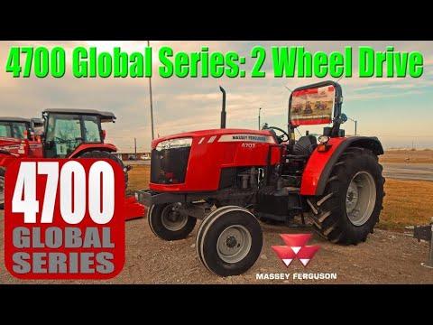 Massey Ferguson 4707 Global: Deluxe 2wd Utility Tractor