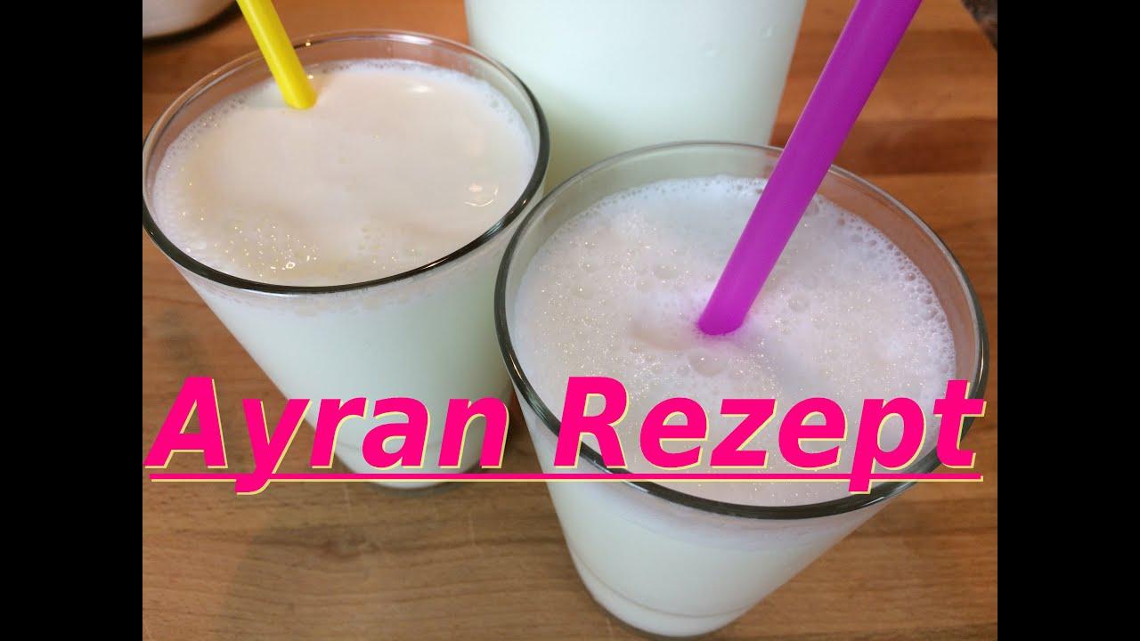 Ayran selber machen in 5 Minuten | Türkisches Erfrischungsgetränk ...