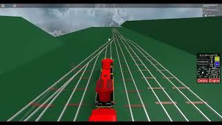 ROBLOX Pop'N Musique Unstoppable AWVR 777 et 767 le train Runaway déraille dans un tunnel