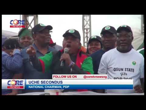 SOUTH-WEST PDP RALLY IN OSOGBO...watch & share...!