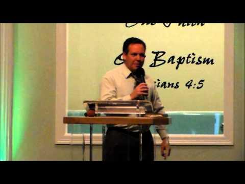 """iWill Testify"" - Pastor Greg Jones"