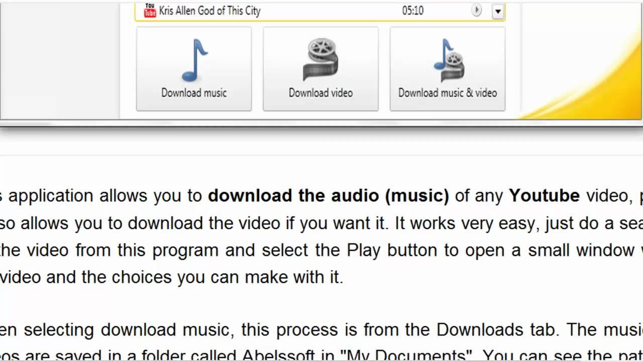 abelssoft youtube song downloader key