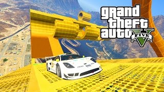 GTA 5 - CUSTOM CUNNING STUNTS RACE | Episode #11 w/ Albert