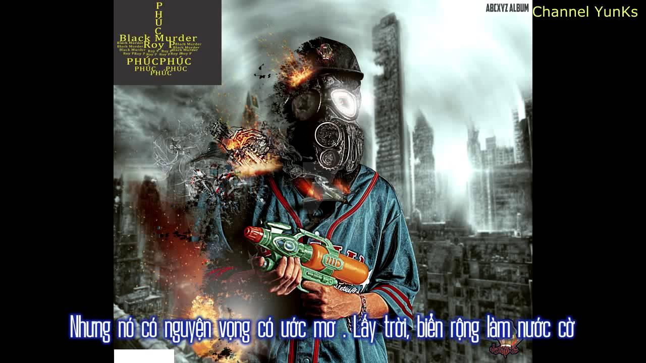 Phúc - Black Murder ft. Roy P [Video Lyrics]