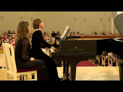 Tchaikovsky - Francesca da Rimini for two pianos - Berlinskaia Ancelle