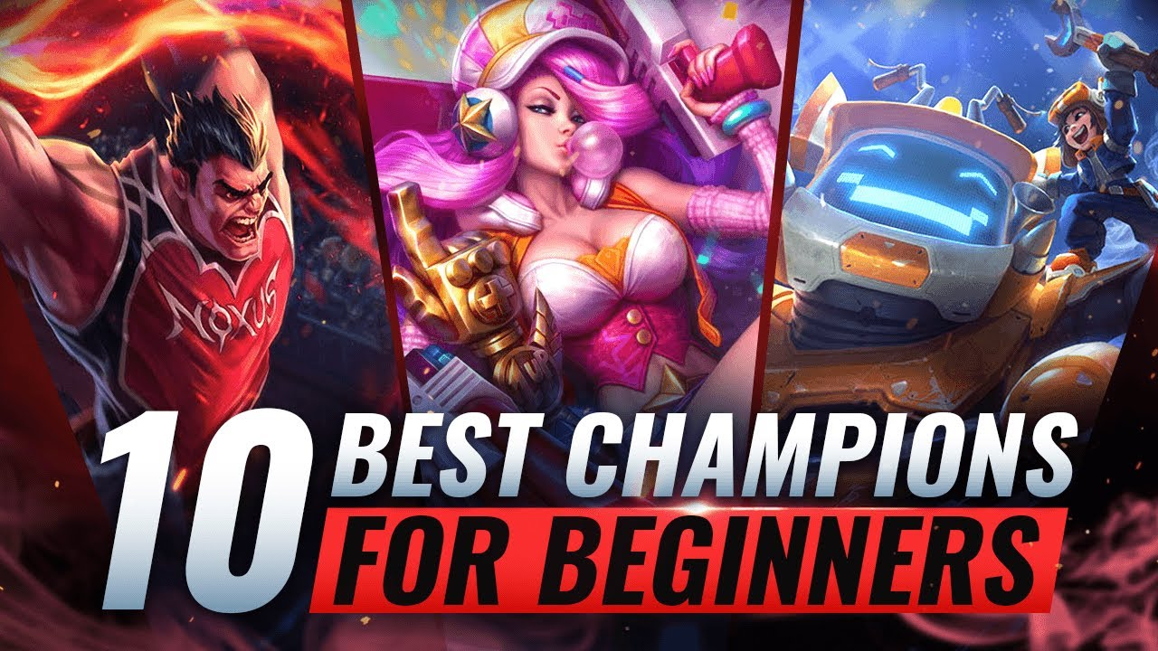 10 BEST & EASIEST Champions For BEGINNERS - League of Legends Season 10 thumbnail
