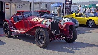 Racing A 1932 Alfa Romeo 8c With Alain De Cadenet! - 2017 Pebble Beach Week