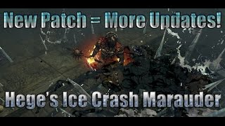 Path of Exile Act 4:  Updates to the Ice Crash Marauder