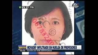 MOVADEF SE INFILTRÓ EN MARCHA DEL SUTEP: ATV+ 15AGO17