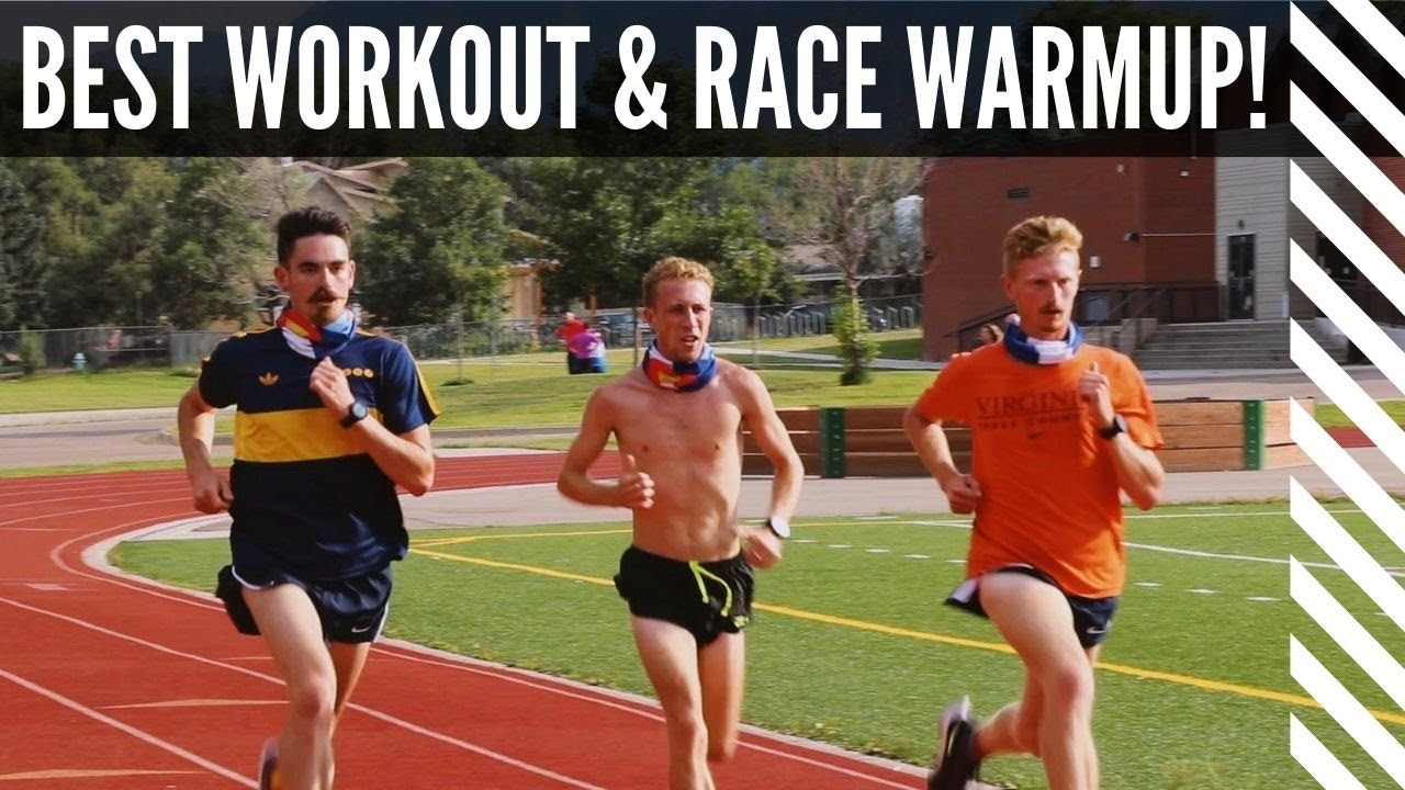 THE BEST WORKOUT AND RACE WARMUP!
