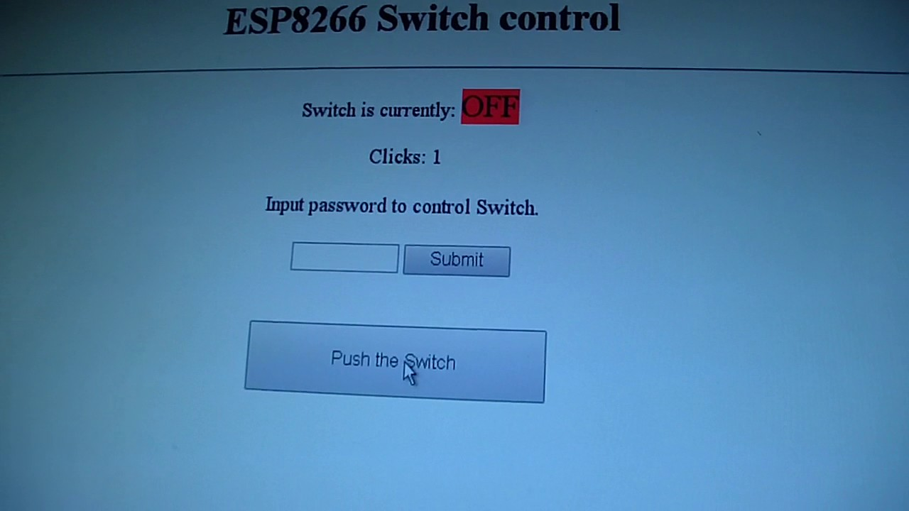 ESP8266 Switch control with autoreconnect to wi-fi network