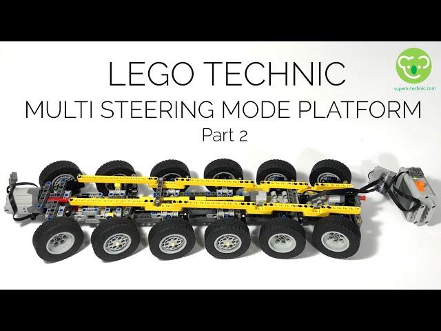 Functionnal tests for Multi Steering Mode Platform - part 2