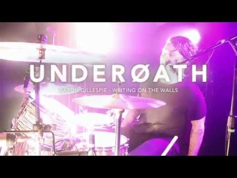 Underoath - Writing On The Walls [Aaron Gillespie] Drum Video Live [HD]