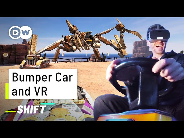 This VR Bumper Car is a crazy Experience