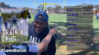 Dallas Cowboys | Training Camp Live in Oxnard California