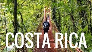 Backpacking in Costa Rica