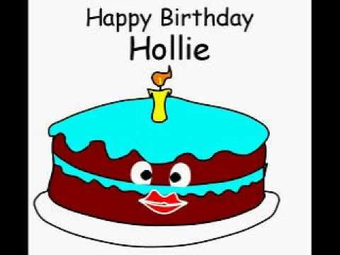 Happy Birthday Hollie
