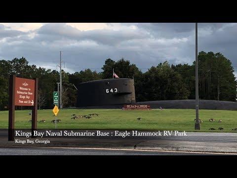 Naval Submarine Base : Eagle Hammock RV Park - Kings Bay, Georgia