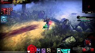 Wicked Beasts: Akaneiro: Demon Hunters Gameplay (PC)