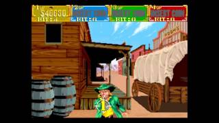 Sunset Riders (4 Players ver EAC) - sunset riders arcade playthrough 60 fps - User video