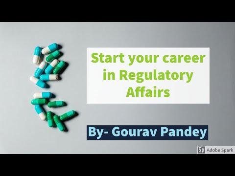 Start Your Career In Regulatory Affairs