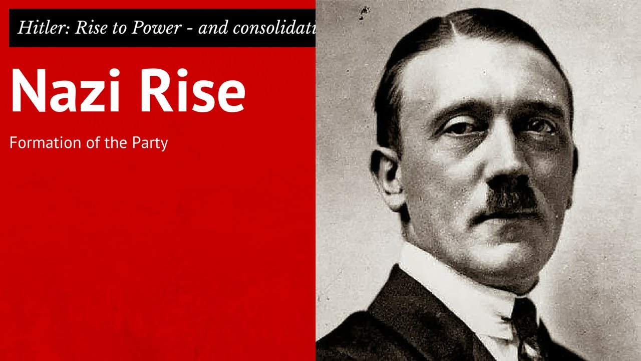 GCSE Germany 9: Nazi Party formed - beliefs and Hitler's role ...