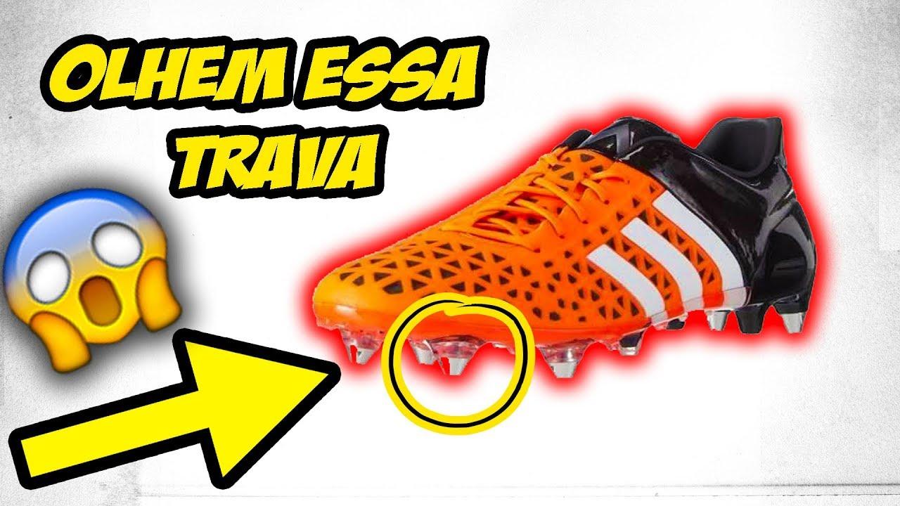 9e26db2741 Chuteira Campo Adidas Ace 15 1 SG - UNBOXING - YouTube