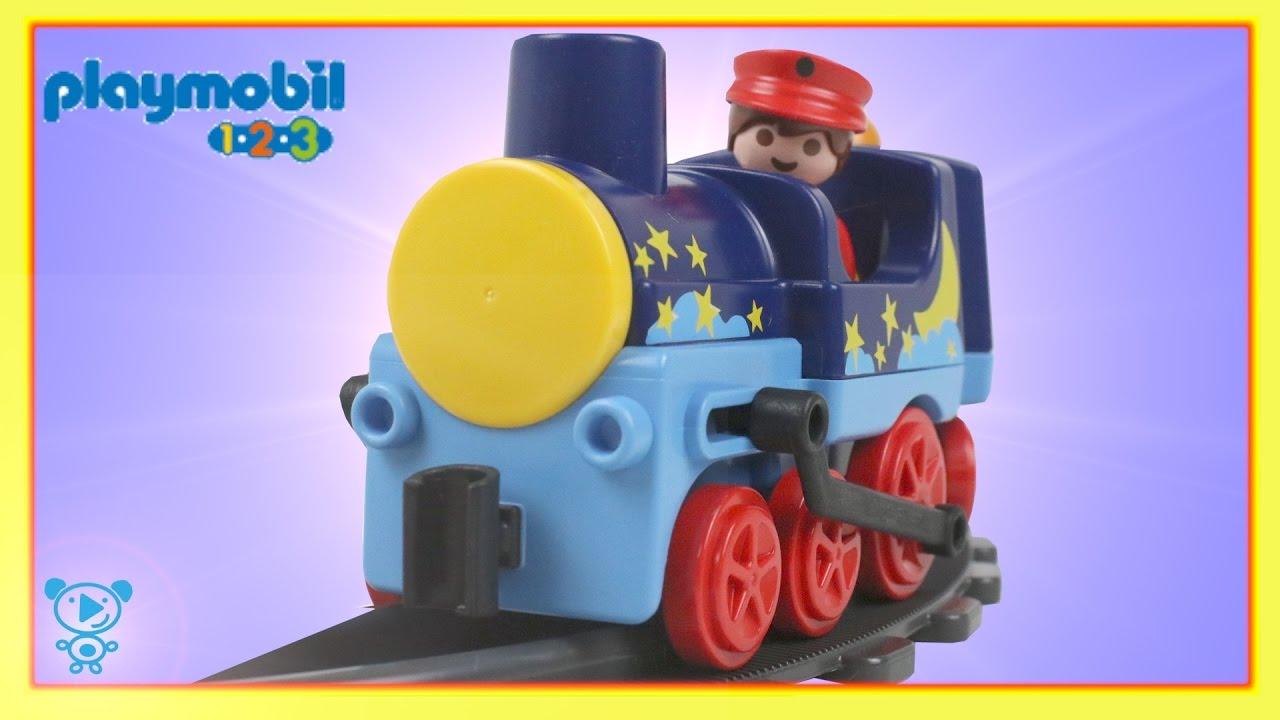 Trains for children video playmobil 123 train playset 6880 - Train playmobil ...