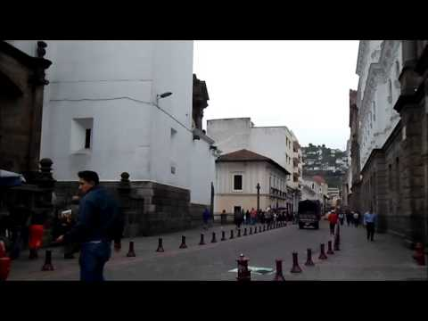 Insider's Ecuador: Meanwhile in the Historical Centre, Quito, Ecuador // Cloudy weather // May, 2013