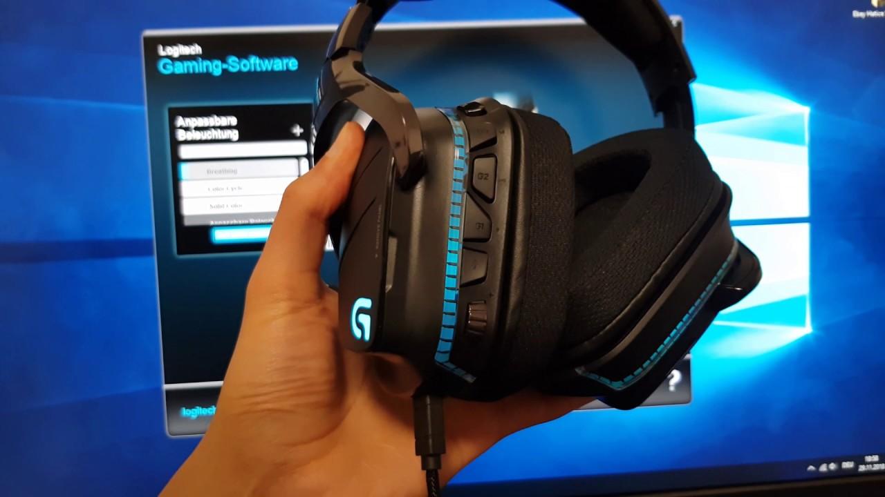 29eff128bbb UnitedG - Logitech G633 Artemis Spectrum 7.1 Dolby Surround RGB Unboxing