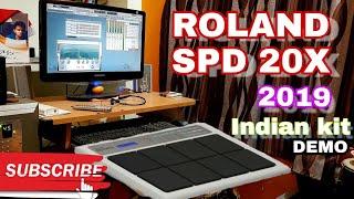 Roland OCTAPAD SPD-20X | 2019 kits Demo | Yamaha & Roland Octapad Training