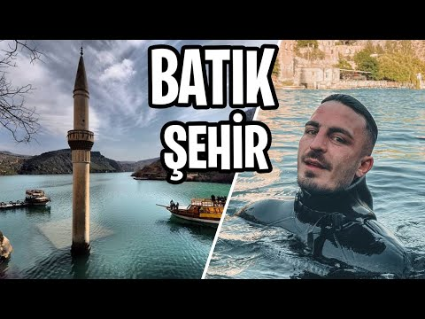 SUYUN ALTINDAKİ BATIK ŞEHİRE DALDIM!!