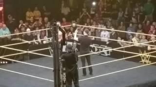 فين بالور يعود و يشارك جسديا بعد تسجيلات NXT ، ولديه ما يقوله لناكامورا - في الحلبة