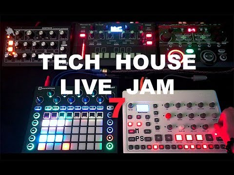 Tech House 2019 Dawless Live on Elektron Model Samples/ Toraiz AS 1/ Moog Minitaur/ Circuit - NU SKY