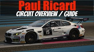 Paul Ricard Circuit Overview / Guide (for ACC Build 3 Update)