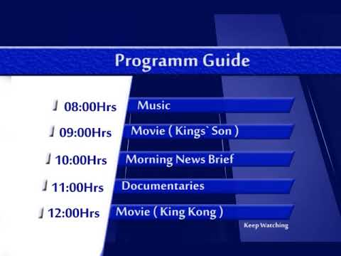 MOBI TV programme guide by GCS