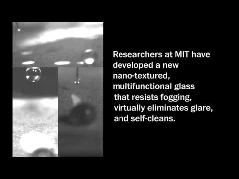 MIT creates anti-fogging, self-cleaning, glare-free glass
