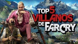 Top Mejores villanos de Farcry #FarCry5MX