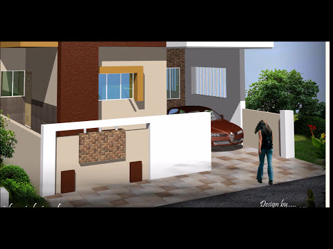Compound Wall Designs Youtube