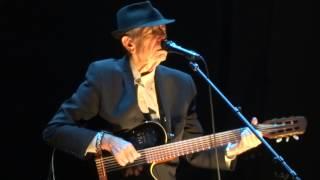 Leonard Cohen Suzanne Live Montreal 2012 HD 1080P