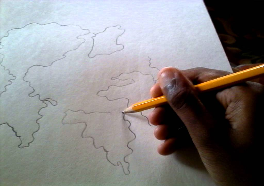 How To Draw The Continents
