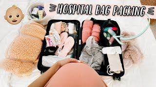 PACKING MY HOSPITAL BAG! 37 WEEKS PREGNANT!