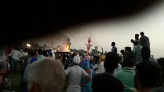 Ravan of ambala in haryana 2017(ambala city)