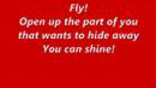Hilary Duff-Fly with lyrics