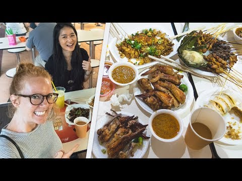 Singapore Food Tour with PEGGIE NEO! + Our First Competitive Eating Contest