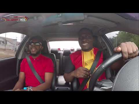 Kalybos On Celebrity Ride With Zionfelix Show - Tribute To E