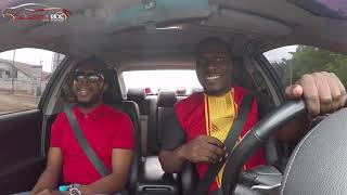 Kalybos On Celebrity Ride With Zionfelix Show - Tribute To Ebony